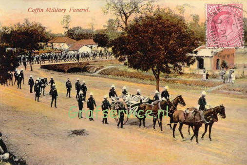 India Coffin Military Funeral GA 13