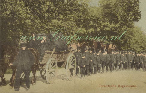 Old Dutch Funeral / Twentsche begravenis